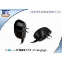 Black 100-240v Ul Plug Wall Mount Power Adapter Ac Dc 3v 1a 4v 1.2a 5v 1a