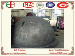 China ZG35 Melting Pot for Metal Cast Steel EB4047 on sale