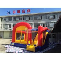 Commercial Inflatable Combo Game , Backyard Attractions Inflatable Castle For Kids