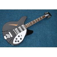 Musical instrument professional electric guitars rickenback guitar 12 string black solid body rickenback jazz guitar