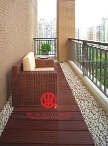 China Long Lifetime Terrace Decking, Bamboo Decks For Garden / Balcony, Durable Bamboo Flooring & Decking on sale
