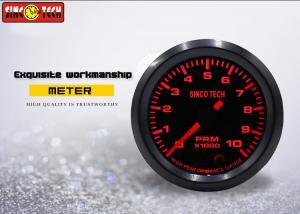 China SINCO TECH 2 Inch Tachometer Gauge , Universal RPM Meter 12v Stepper Motor on sale