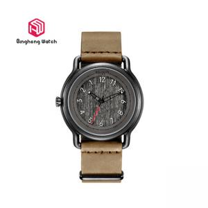 China Creative Business Gift Quartz Wrist Watch Genuine Leather Band Lady Fashion Design on sale