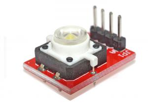 China DIY LED Light Arduino Button Module For Raspberry Pi , 20.7*15.5*9 Cm Size on sale