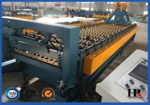 China Durable Roofing Corrugated Sheet Roll Forming Machine High Speed For Roof Panel on sale