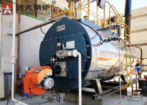 China Fire Tube Gas Oil Steam Boiler 1 Ton Automatic Operating WNS 1 - 1.25 - Y on sale