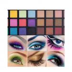 Beauty Smokey Colorful Makeup Palette Dry Powder For All Ages OEM Logo