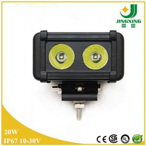 China Wholesale CREE LED 20w 6000k mini led working light bar on sale