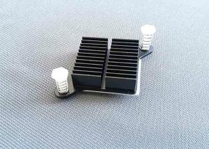 China Square CNC Machining Metal Parts Heat Sink Radiator ISO Certification on sale