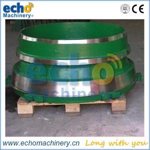 China premium replacement cone crusher parts standard, medium, coarse & shorthead cone liners on sale