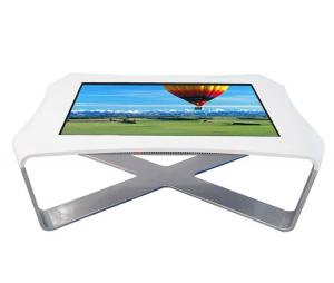 China Android Network Windows Multi Touch Screen Table , Touch Screen Dining Table For Dining Hall on sale