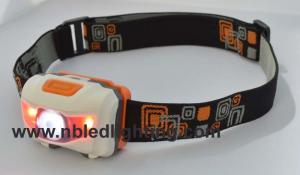 China High Power Cree 3Watt LED Headlamp With Strobe Function SMD LED Headlight on sale