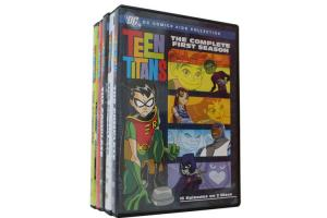 China Teen Titans Season 1-5 Box Set DVD Movie TV Series Adventure Sci-Fi DVD For Family Kids on sale