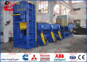 China Heavy Duty 630Ton Hydraulic Metal Baler Shear for Waste Car Bodies Steel Scrap Different Shape Cutting on sale