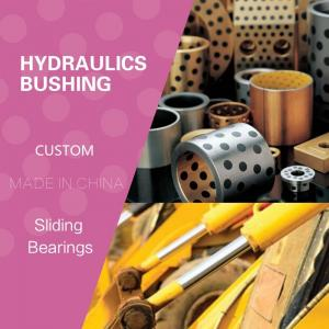 China Hydraulics Sleeve Guide Pump Bushing We Stock and Manufacture Solutions for the Hydraulics Industries Slding Bearings on sale