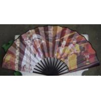 China chinese style hand fan with bamboo ribs on sale