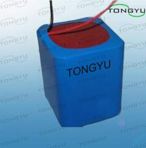 China Light Lithium Ion Rechargeable Battery 14.8V 4400mAh For Portable Flaw Detectors supplier