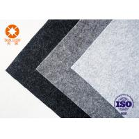 Breathable Non Woven Felt Hat Materials Nonwoven Polyester Industrial Felt Fabric