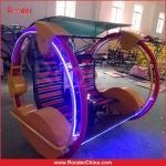 Carro do espaço do tipo de Rooder/veículo feliz dos jogos/chaise de balanço/trotinette bonde do aluguel