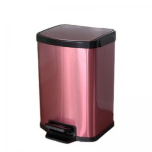 China Anti Corrosion 5L Stainless Steel Pedal Trash Can on sale