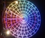 Luz branca do pixel do diodo emissor de luz da cor 20mm do feijão SMD5050 IP67 do milagre para a roda de Ferris