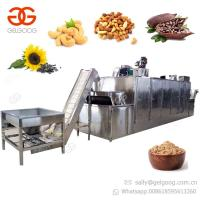 Commercial Groundnut Coffee Bean Roaster Cashew Nut Peanut Roasting Machine