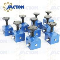 China High precision motomotorized worm gear screw jack SWL series worm lift jack SWL series worm screw lifts on sale