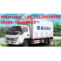 China Hot sale forland brand 20,000-25,000 day old  chicks transported truck, best price forland baby duck delivery truck on sale