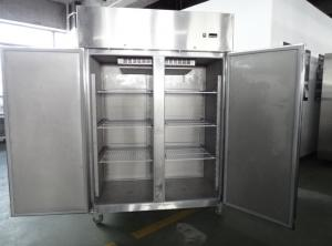 CE Approved 2 Door Commercial Freezer Commercial Kitchen ...
