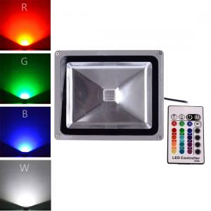 China 16 Color Tones RGB LED Flood Light for Illumination and Beautification of Home Hotel Garde on sale