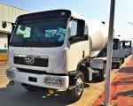 FAW Brand New Concrete Transport Truck 8m3 Volume 250kw Max Output