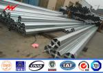 30ft  4mm Q345 Hot Dip Galvanized Steel Tubular Pole For Electrical Industry