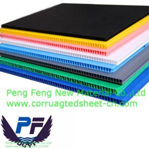 China Corrugated Plastic Edge Trim sheet on sale
