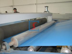 China Automatic Plastic Sheet Extrusion Machine , Plastic Soft PVC Sheet Extrusion Machine on sale
