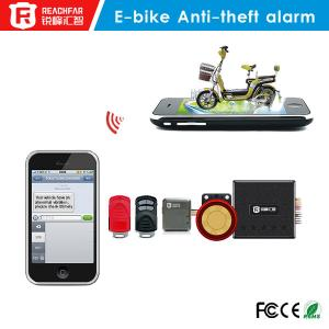 China Mini gsm/gprs gps tracker Electric bicycle anti-theft alarm system SMS and phone alarm on sale