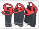 Wine bottle neoprene cooler handbag selection, tailor made neoprene bottle coolers,
