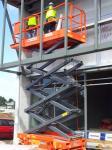 scissor pallet lift platform