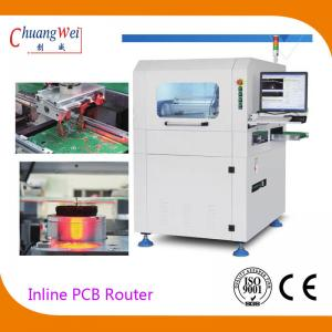 China High Speed KAVO Spindle Inline PCB Router PCB Routing with Automatic Tool Change on sale
