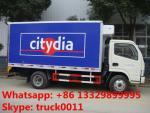 熱い販売2tons-3tonsは運ばれたマグロ、van truck販売の新しいシーフードのためのdongfeng reeferのためのトラックを冷やしました
