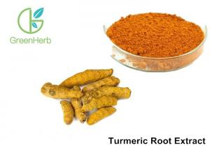 China 95% Curcumins Natural Food Pigments Turmeric Root Extract Anti - Inflammatory on sale