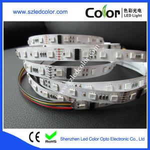 China 5050 digital rgb dream color dc24v 60led/m dmx led strip on sale