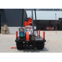 High Performance Horizontal Directional Drilling Rig / Portable Water Well Drilling Rigs