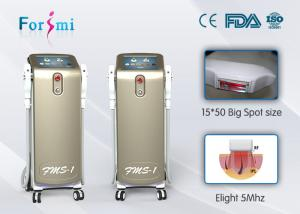 China super cooling system ice sapphire crystal big spot size 16*50mm beautiful design super SHR fast hair removal machine on sale