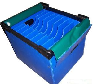 China Virgin Polypropylene Turnover Corrugated Plastic Boxes Flame Retardant on sale