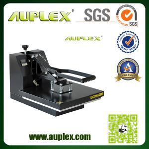 China Machine manuelle de presse de la chaleur de T-shirt bon marché de 12 ans produisant l'usine d'expérience on sale