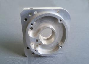 China Anodized CNC Machined Aluminum Parts , Aluminum Alloy Parts For Aircraft Parts on sale