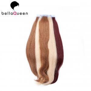 China Colored Brazilian Virgin Human Hair Tape Hair Extensions for Beauty Salon on sale