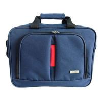 Shoulder Laptop Computer Carry Bags Briefcase Durable 2 Compartments Outside