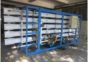China Industrial  Heavy duty  Seawater RO Plant With reverse osmosis filtration systems on sale