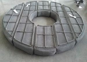 China Donut Shape Wire Mesh Demister on sale